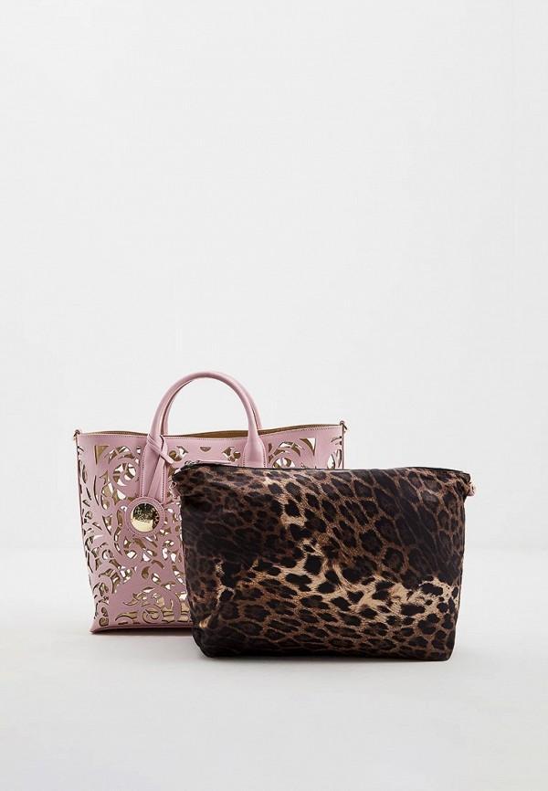 Сумка-шоппер  - розовый цвет