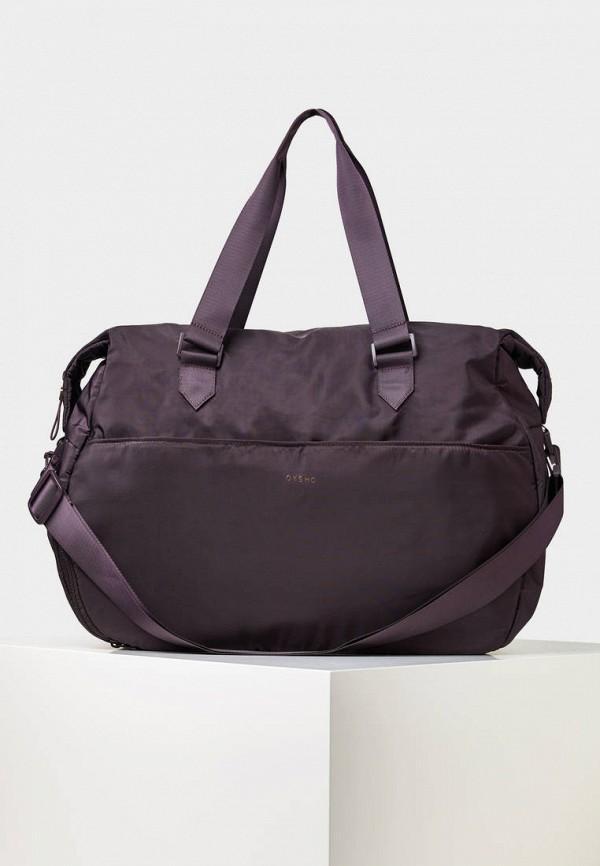 Спортивная сумка  - фиолетовый цвет