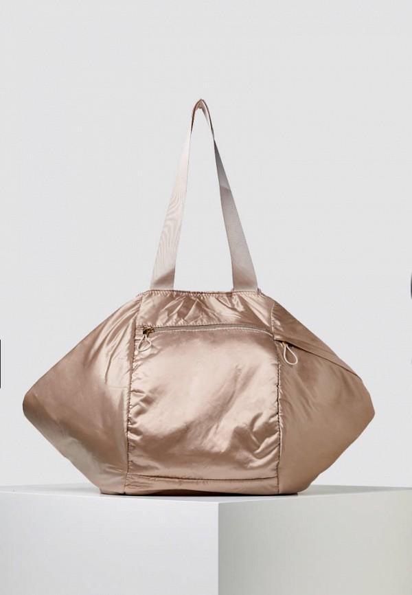 Спортивная сумка  - бежевый цвет