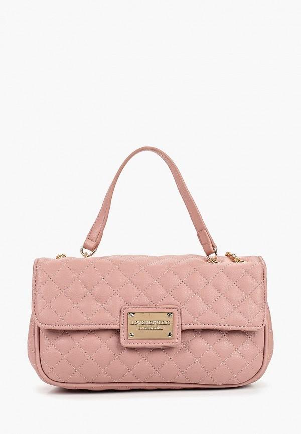 Сумка через плечо  - розовый цвет