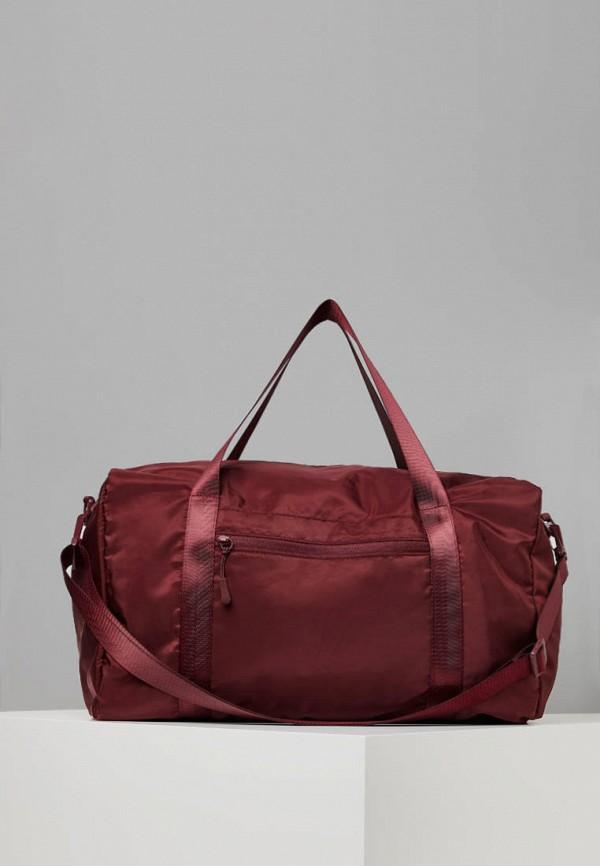 Спортивная сумка  - бордовый цвет