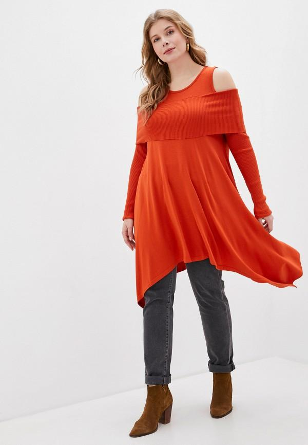 Туника  - оранжевый цвет