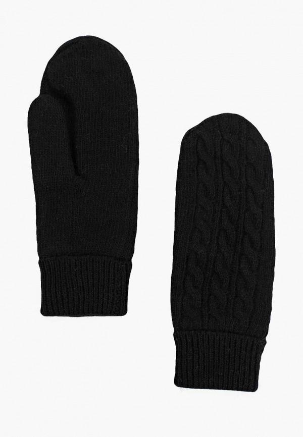 Варежки  - черный цвет