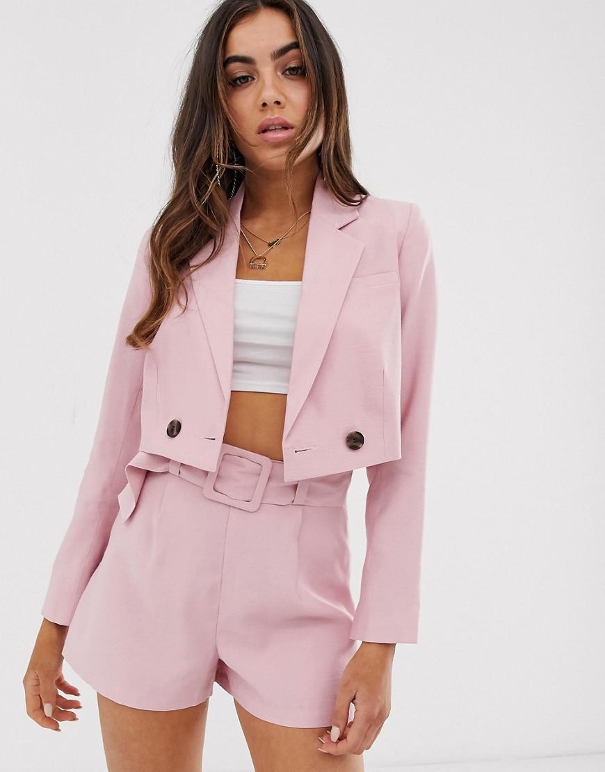 Блейзер  - Розовый цвет