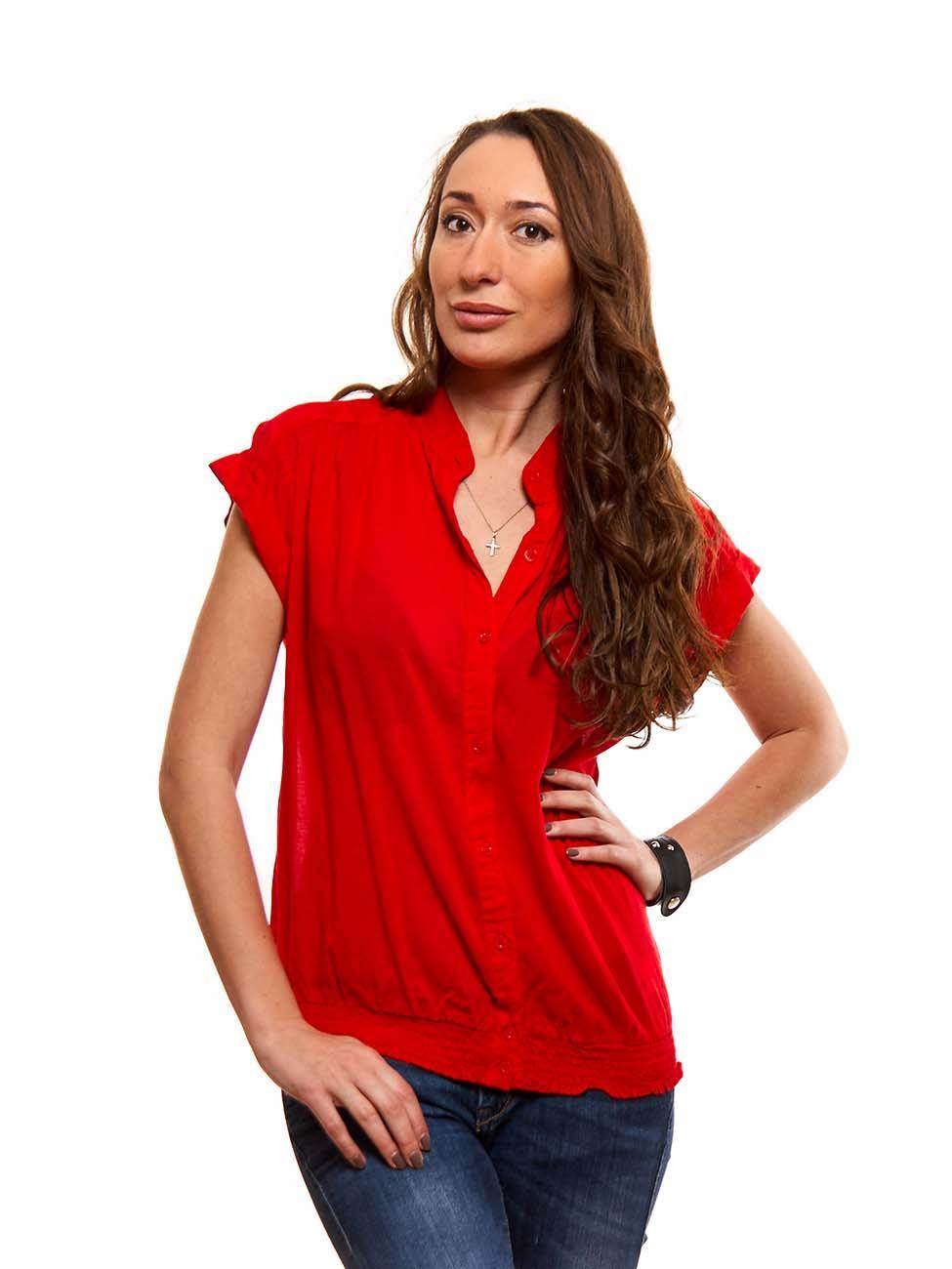 Купить Красную Блузку В Москве