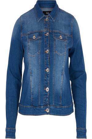 Жакет  синий джинсовый цвета