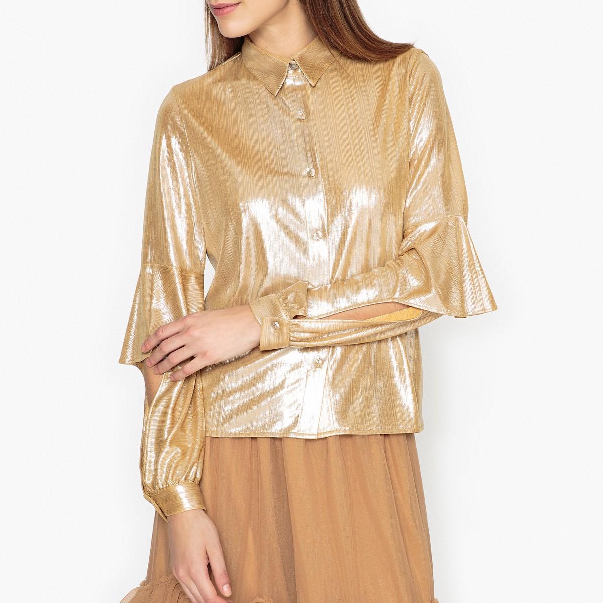 Рубашка  - золотистый цвет