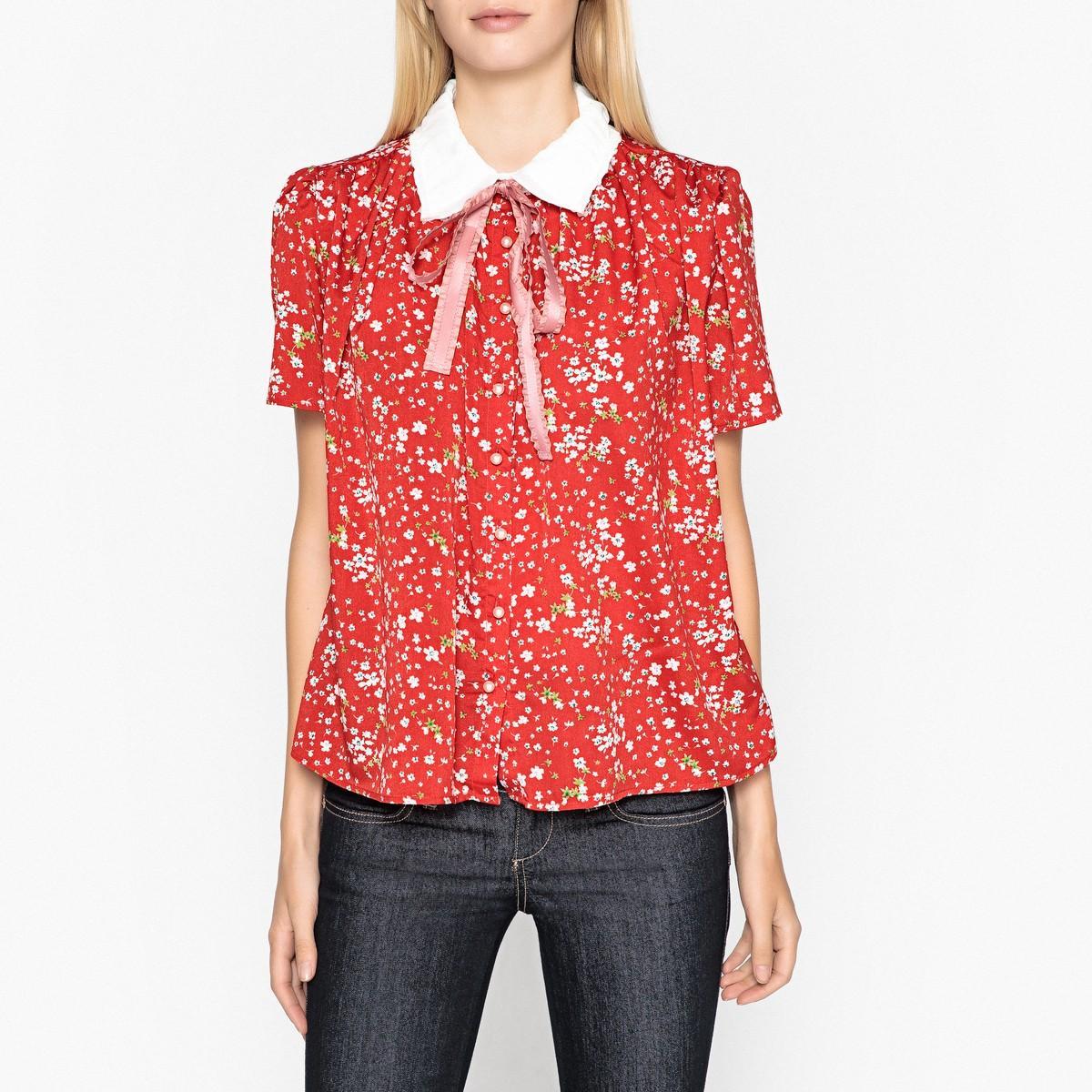 Рубашка  - наб. рисунок красный цвет
