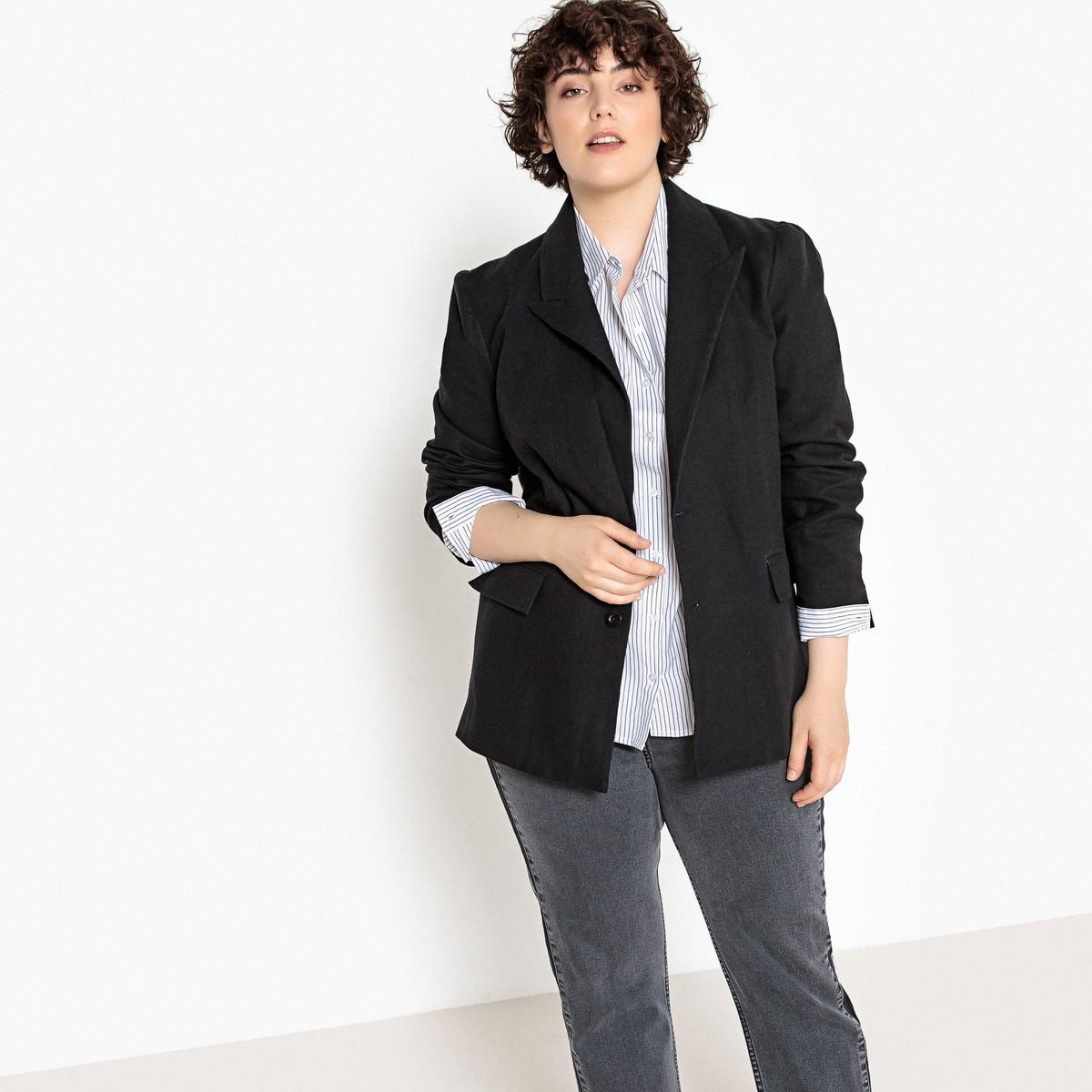 Жакет  серый,черный цвета