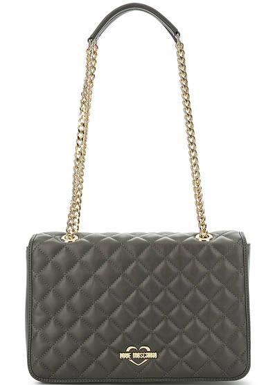 Средняя сумка  - клетка,серый цвет