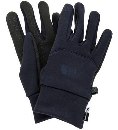 Перчатки без подкладки  - синий цвет