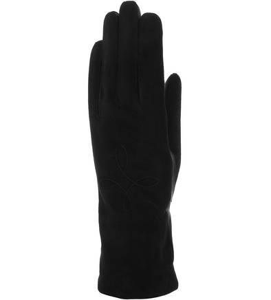 Перчатки с шерстяной подкладкой  черный цвета