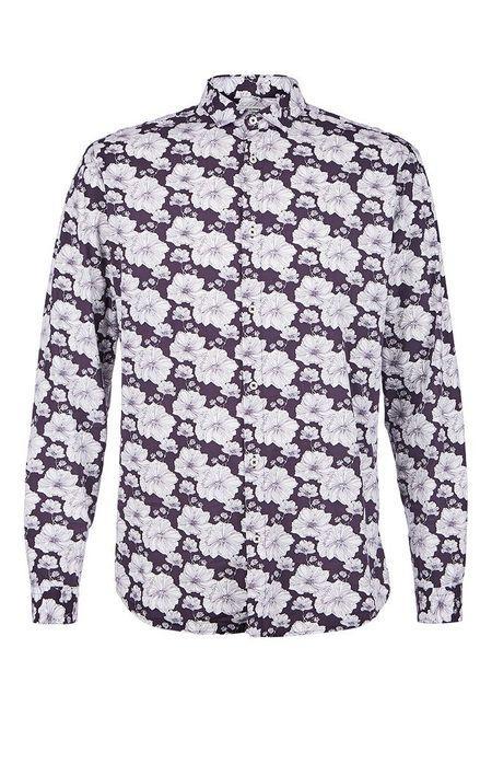 Рубашка  - фиолетовый цвет