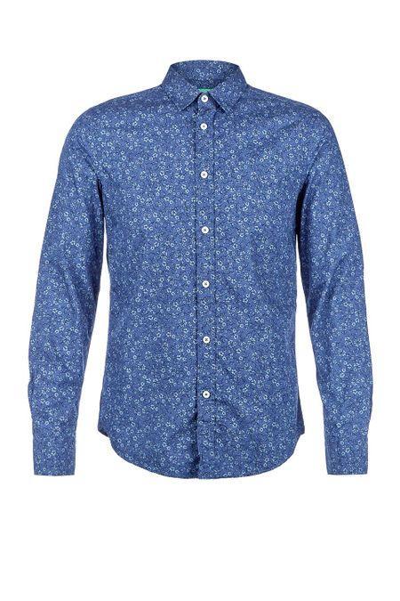 Рубашка  - синий цвет