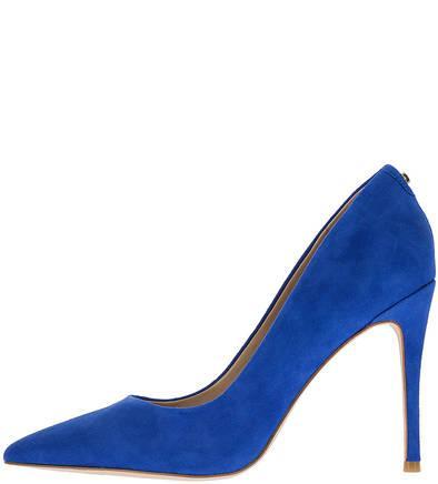 Туфли  - синий цвет