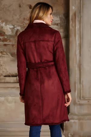 e2cede7913f Пальто Пальто короткие бордового цвета Vittoria Vicci за 6 450 руб ...