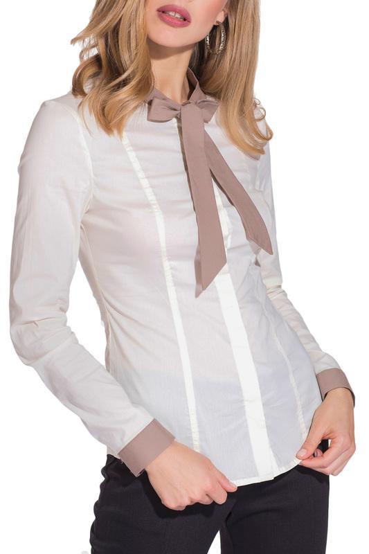 Рубашка  - Белый, бежевый цвет