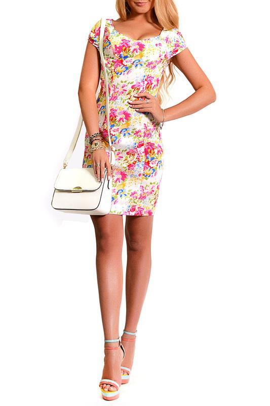 Платье  Мультицвет цвета