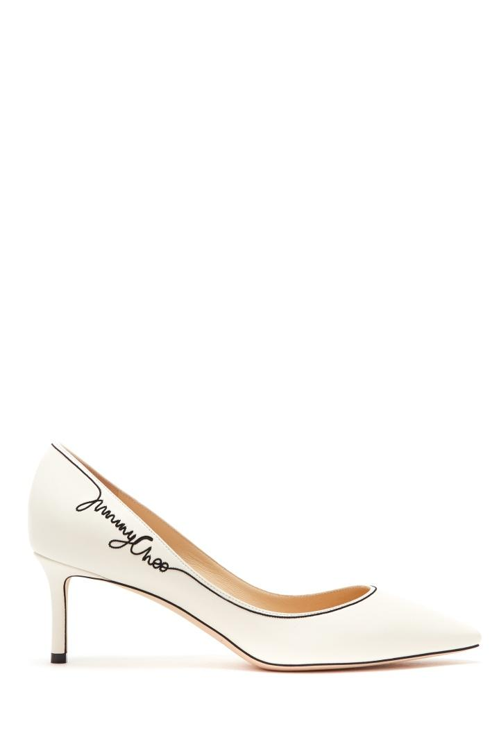 Ботинки  - белый цвет