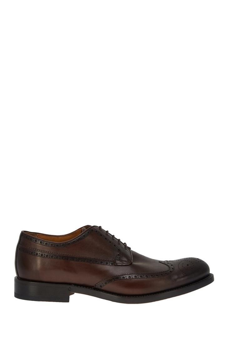 Ботинки  - коричневый цвет