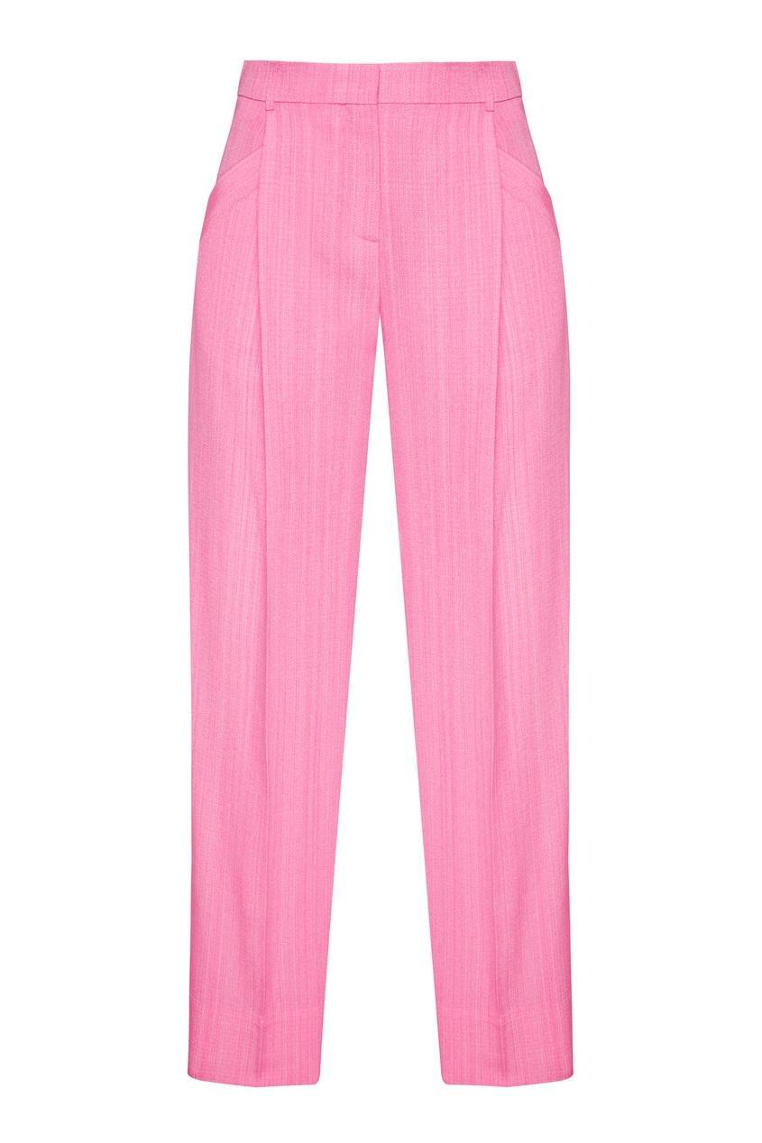 Брюки  - розовый цвет