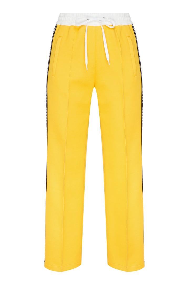 Брюки  - желтый цвет