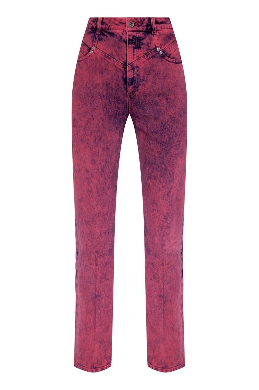 Джинсы  - розовый цвет