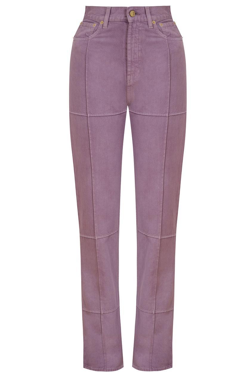 Джинсы  - фиолетовый цвет