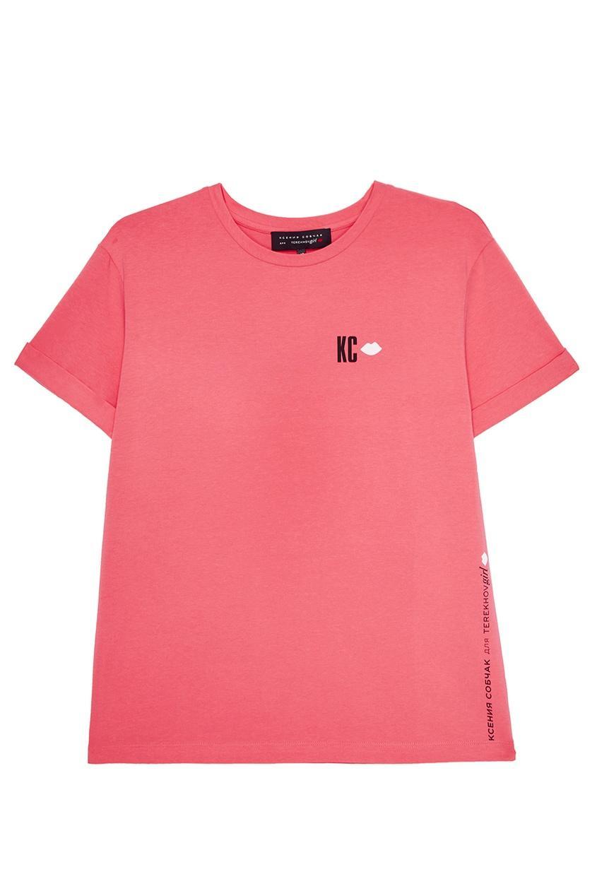Футболка  - розовый цвет