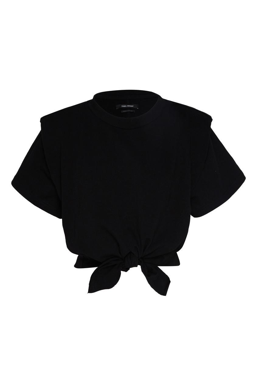 Футболка  - черный цвет