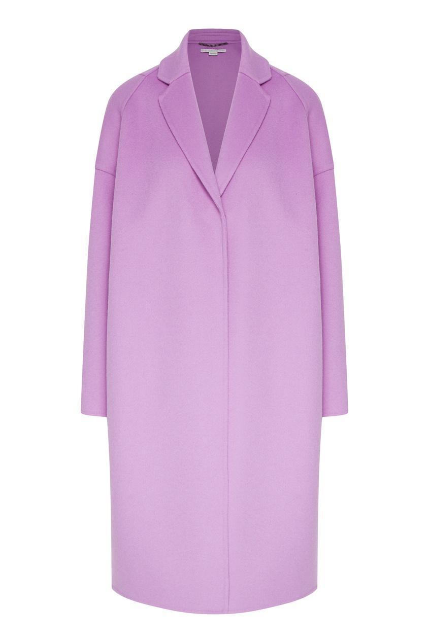 Пальто  - фиолетовый цвет