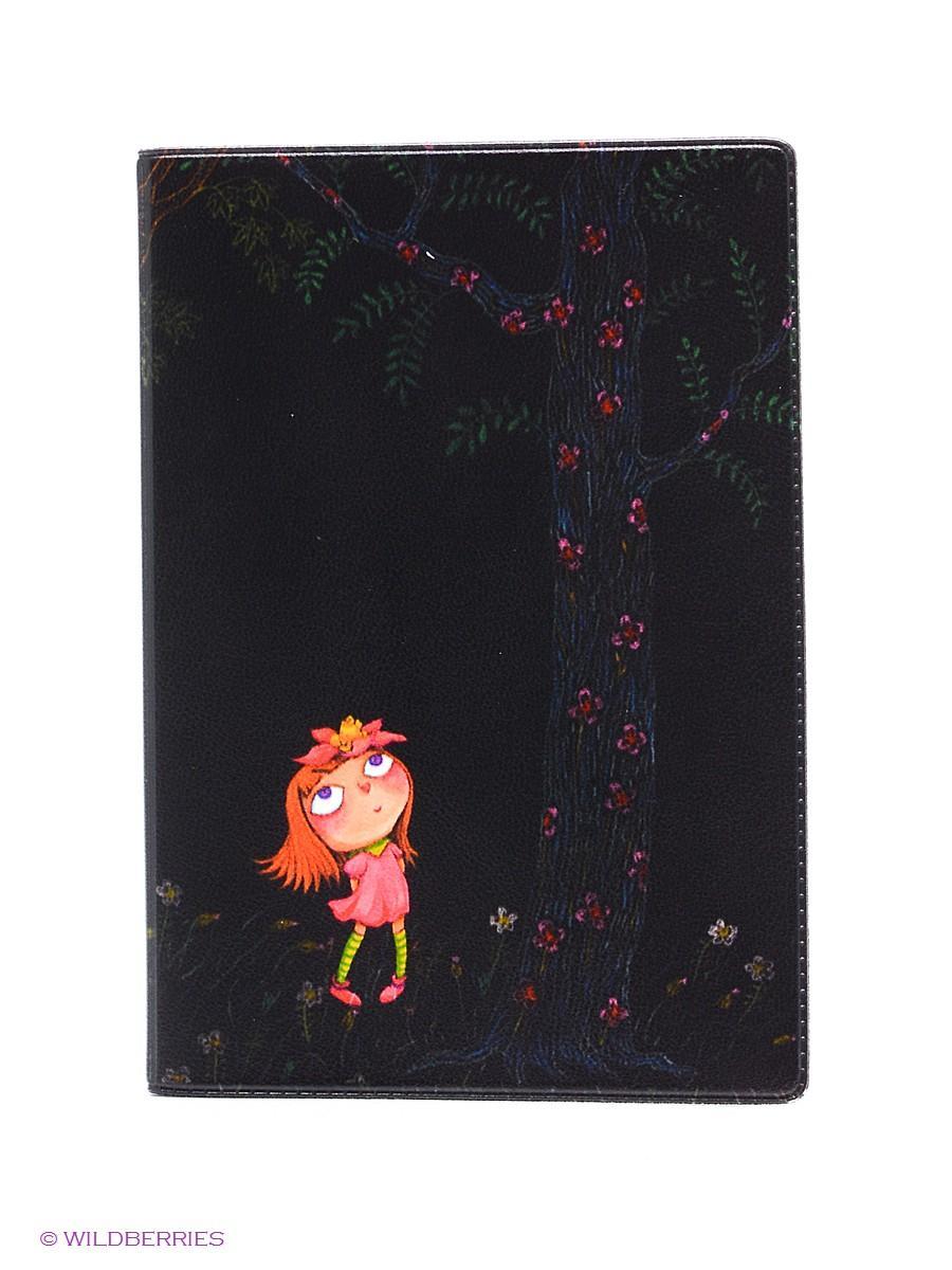 Обложка Для Паспорта Девочка В Розовом Платье Ночью  Mitya Veselkov