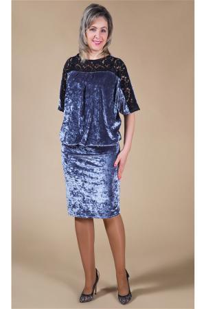 Платье большого размера   цвета