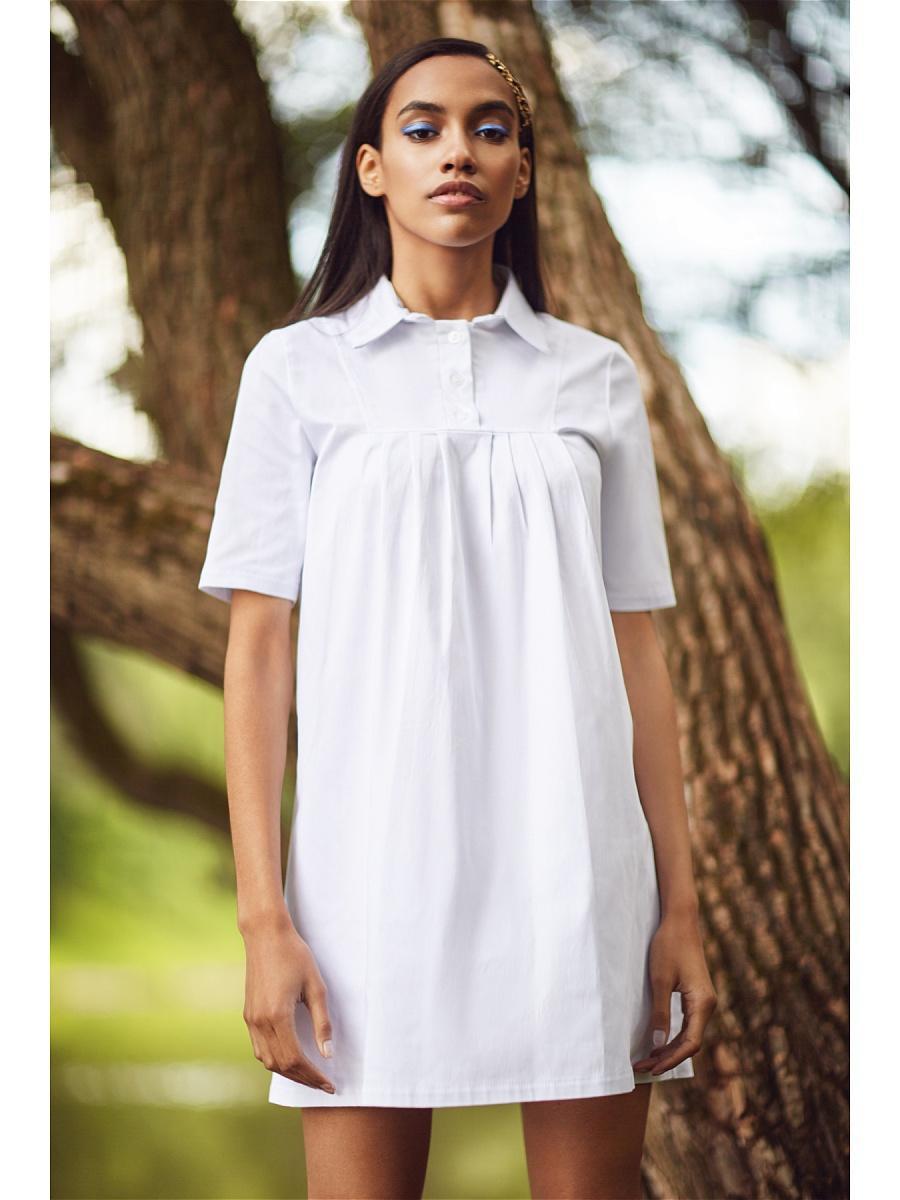 Белая Рубашка Туника Доставка