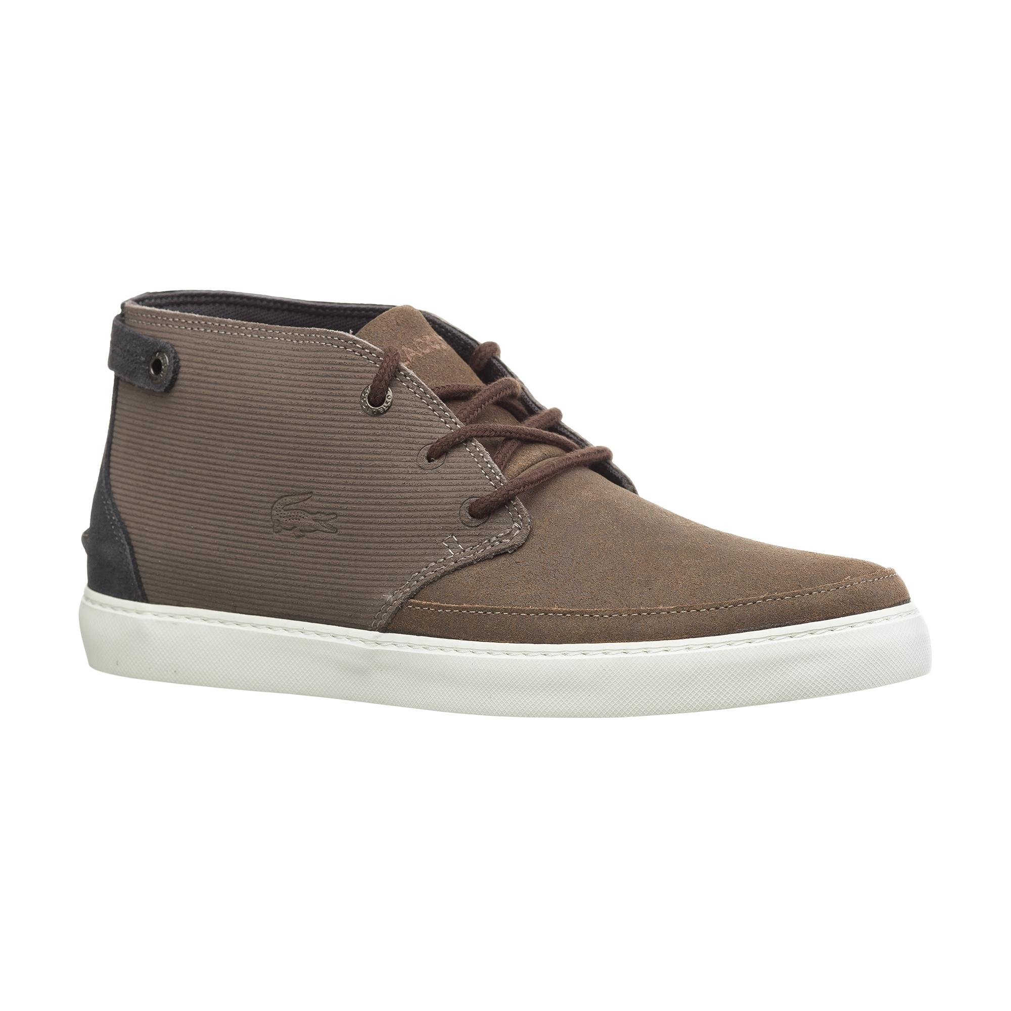 Ботинки  - серый цвет