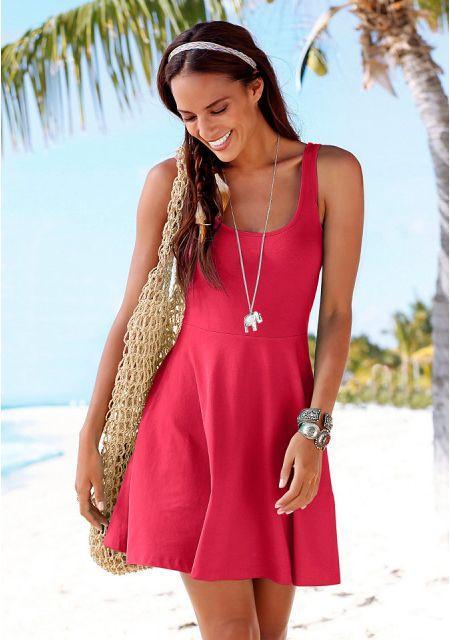 Платье BEACH TIME