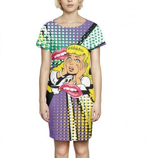 Платье Print Bar