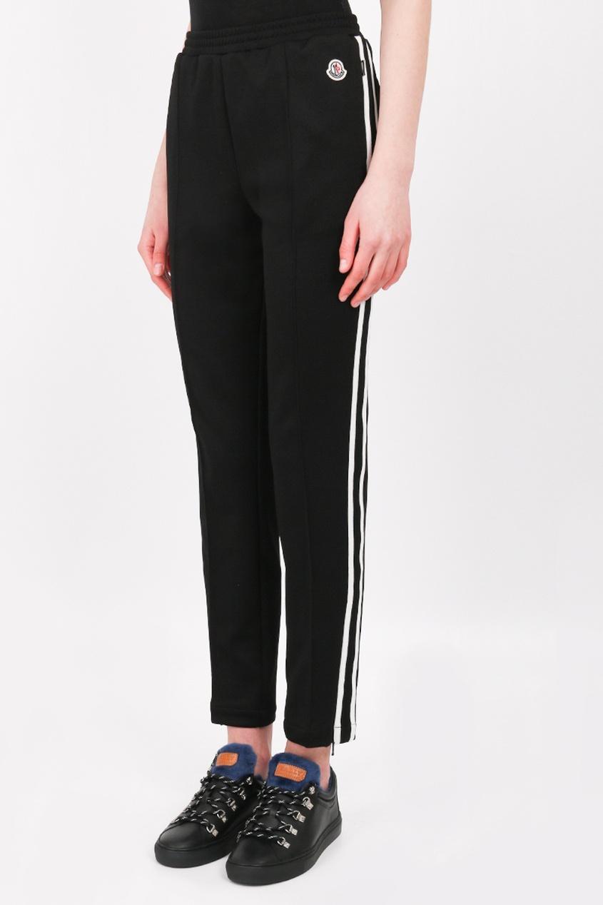 Прямые брюки  - черный цвет