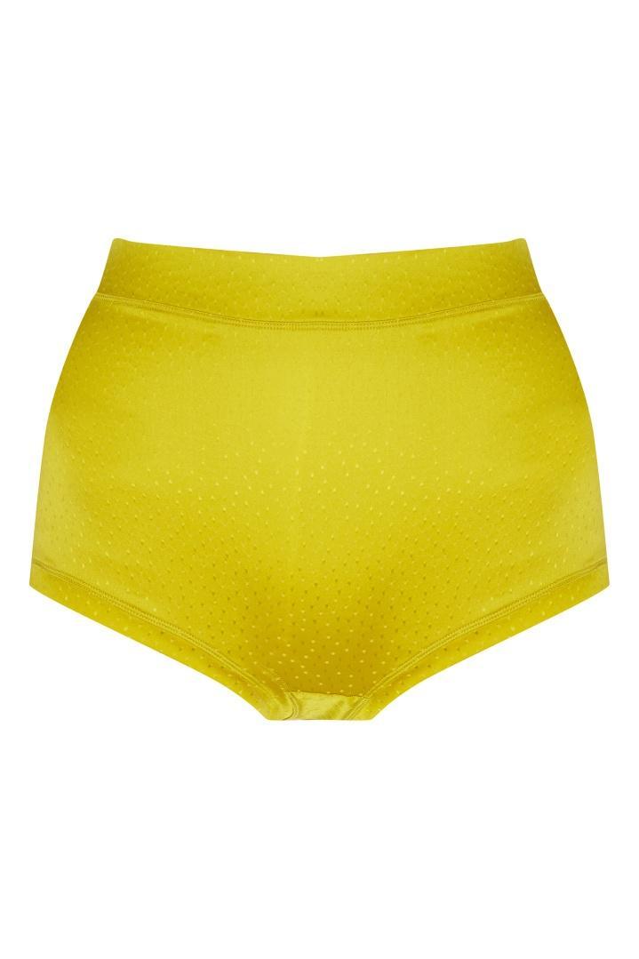 Трусы  - желтый цвет
