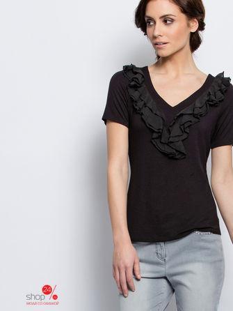 Блузка  - черный цвет