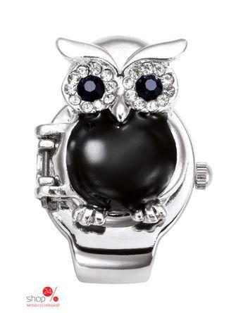 Часы  черный/серебристый цвета