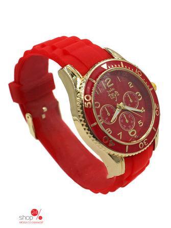 Часы  золотой, красный цвета