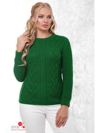 Джемпер  зеленый цвета