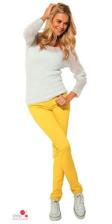 Джинсы  желтый цвета