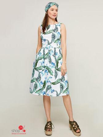 Платье  изумрудный цвета