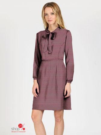 e5615eaff4a Платье бордовый цвета