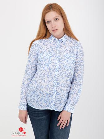 Рубашка  - голубой, белый цвет