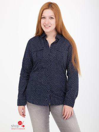Рубашка  - темно-синий, белый цвет