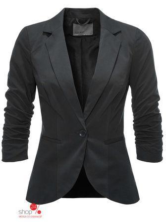 Жакет  черный цвета