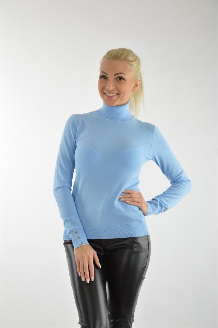 1fe31a703668 Женские водолазки голубого цвета Sela купить онлайн в интернет ...